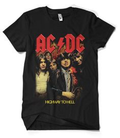 ROCK HAND T SHIRT girly T WOMENS lady fit METAL ROCK