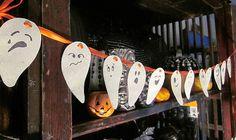 """Activités et coloriages spécial Halloween, guirlandes, masques, sacs de bonbon, Une sélection des plus beaux dessins pour la fête du 31 octobre, des plus emblématiques, aux plus """"effrayants"""". Des dessins coloriés pour décorer la maison, faire des guirlandes, des masques, des sacs de bonbons en papier..."""