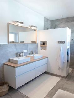 You need a lot of minimalist bathroom ideas. The minimalist bathroom design idea has many advantages. See the best collection of bathroom photos. House Design, House Bathroom, Interior, House Interior, Minimalist Bathroom, Bathroom, Bathrooms Remodel, Bathroom Design, Bathroom Decor