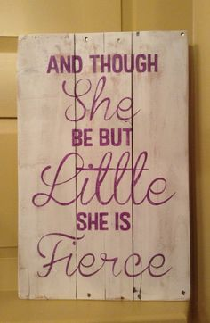 Grand children on pinterest quote tattoos number 2 and for Though she be little she is fierce tattoo