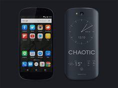 Yotaphone 2 PSD mockup