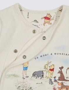 9f2f3fa899d Winnie the Pooh & Friends™ Unisex Sleepsuit   Marks & Spencer London Winnie  The Pooh