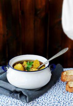 Receta 222: Patatas guisadas viudas » 1080 Fotos de cocina