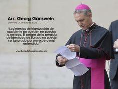 Repaso al gran legado del Papa Benedicto XVI, con el inestimable testimonio de Monseñor Gänswein y la actualidad de la Iglesia bajo el Pontificado de Francisco.