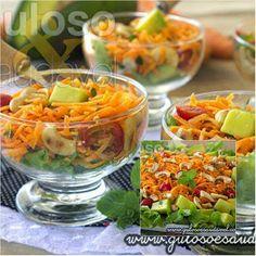 Deixe o seu cardápio mais saudável, o seu corpo leve, invista em receitas práticas simples e saborosas como a Salada de Cenoura Refrescante!  #Receita aqui: http://zip.net/bfn6QQ