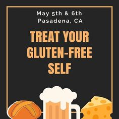 ONE WEEK! Did someone say cheesy bread and beer? This is a recipe for a #glutenfree good time! Dont wait in line for your chance to indulge - get your ticket now!  Celiac.org/expo2018 #CDFEXPO #glutenfreelife #celiacdisease #celiacdiseasefoundation #glutenberg #vidalatina #brazibites #grilledcheese