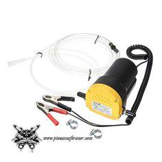 44,72€ - ENVÍO GRATIS - Bomba Sumergible para Combustibles y Líquidos Incluye Manguera 12V