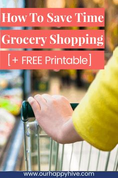 Grab this free grocery store list pdf to save time and frustration the next time you go to the store. It organizes things by categories so you never forget an item again. Make A Grocery List, Grocery List Printable, Grocery Lists, Grocery Store, Order Groceries, Save Money On Groceries, Money Saving Tips, Money Savers, Time Saving