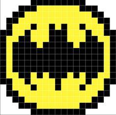 Embellish a simple ikea cushion with the Batman signal in crochet ! Batman Logo, Lego Batman, Superhero Logos, Batman Signal, Lego Lego, Cool Minecraft Houses, Minecraft Pixel Art, Minecraft Skins, Minecraft Buildings
