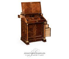 Mahogany biedermeier davenport #hpmkt #jcfurniture #jonathancharles #Furniture #InteriorDesign #decorex #Knightsbridge