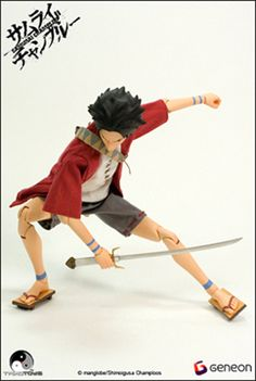 Samurai Champloo Merchandise--Figures and Toys
