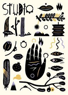 Poster for Studio Lil by Daniela Olejníková
