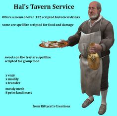 Hal's Tavern Service box