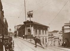 Imagem relacionada Rua Dr. Falcão com Líbero Badaró, 1910