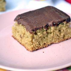 Moist Coffee Sheet Cake with Chocolate Hazelnut Coffee Frosting