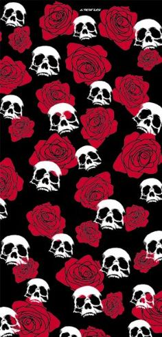 Seirus Innovation Skulls & Roses Poly SunThing, Red, One Size Phone Wallpaper For Men, Halloween Wallpaper Iphone, Cellphone Wallpaper, Aesthetic Iphone Wallpaper, Wallpaper Backgrounds, Galaxy Wallpaper, Gothic Wallpaper, Skull Wallpaper, Pattern Wallpaper
