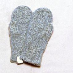 Woll - Fäustlinge Active, Handschuhe aus gewalkter Schafwolle