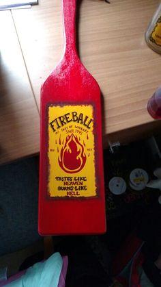 Fireball paddle idea