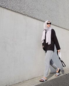 64 Ideas Fashion Style Hijab Ideas Outfit For 2019 Street Hijab Fashion, Muslim Fashion, Fashion Pants, Modest Fashion, Girl Fashion, Fashion Outfits, Sport Fashion, Street Outfit, Trendy Fashion