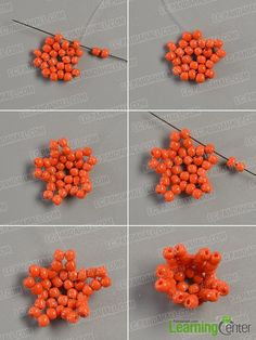 Wanna a beaded flower key chain? Then see here, today's Pandahall tutorial will show you a tutorial on how to make flower key chain with seed beads and pearl beads. Seed Bead Jewelry Tutorials, Seed Bead Bracelets Tutorials, Seed Bead Crafts, Bead Loom Bracelets, Beading Tutorials, Beaded Flowers Patterns, Beaded Earrings Patterns, Seed Bead Patterns, Bead Jewelry