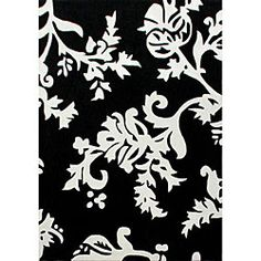 @Overstock.com - nuLOOM Hand-tufted Pino Collection Peonies Black Rug (5' x 8') - Add some style to your home with this Peonies rug This contemporary rug contains black and white coloring This area rug has been hand-tufted of high-quality mod polypropylene  http://www.overstock.com/Home-Garden/nuLOOM-Hand-tufted-Pino-Collection-Peonies-Black-Rug-5-x-8/4606986/product.html?CID=214117 $134.41