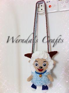 Crochet botle cover (xi yang yang)