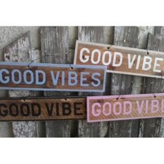 unique Other - Good Vibes Brandy Melville Style Sign wood