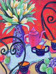 Tea For Two by Michi Susan