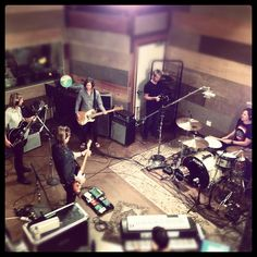 Switchfoot is back in the recording studio. <3