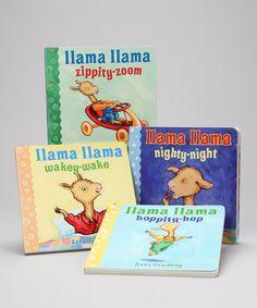 Look what I found on #zulily! Llama Llama Board Book Set #zulilyfinds