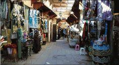 Zoco en Fez