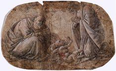 Поклонение младенцу (ок.1495). Sandro Botticelli (1445-1510)