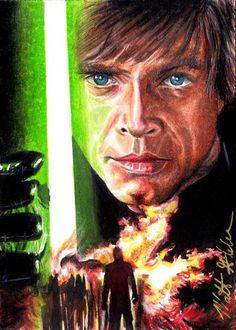 Luke Skywalker Jedi Knight by Twynsunz.deviantart.com on @DeviantArt