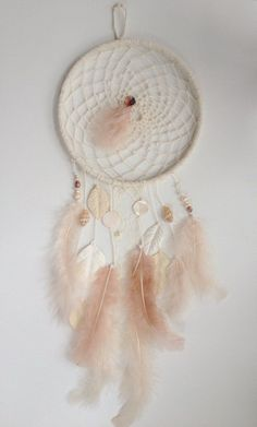 Pretty Homemade Dream Catcher | 15 Stunning Dream Catcher Tutorials