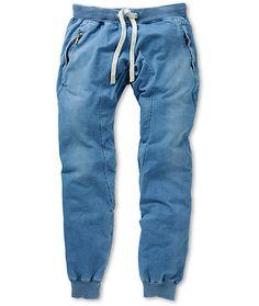 American Stitch Harem Lite Denim Jogger Sweatpants