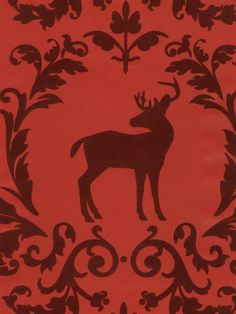 You're a Deer Wallpaper | VELVET COLLECTIBLES III | AmericanBlinds.com