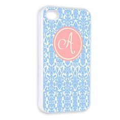 Personalised Floral iPhone Cover  http://www.treather.com/product/Personalised-Floral-iPhone-Cover