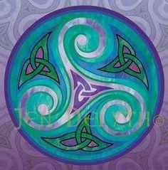 Celtic Art Triskel by christa