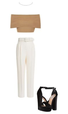 """""""Untitled #79"""" by avakitchen on Polyvore featuring Blue Vanilla, Emilia Wickstead and Steve Madden"""
