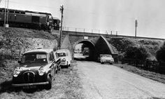 8th August 1963:  The Mail Train which was stopped on a bridge during 'The Great Train Robbery' so that it could be unloaded.