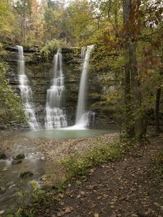 Triple Falls mile long Directions: Travel south on Highway 7 to Jasper… Vacation Destinations, Vacation Spots, Vacation Ideas, Oh The Places You'll Go, Places To Travel, Harrison Arkansas, Arkansas Waterfalls, Arkansas Vacations, Twin Falls