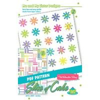 Slice of Cake Downloadable PDF Quilt Pattern Me and My Sister Designs