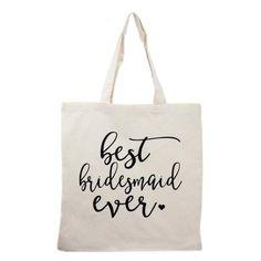 Bridesmaid tote bag bridesmaid gifts