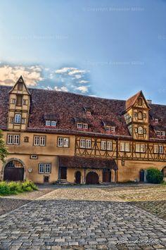 Rothenburg Ob Der Tauber, Germany, Mansions, House Styles, Architecture, Amusement Parks, Black Forest, Stuttgart, Manor Houses
