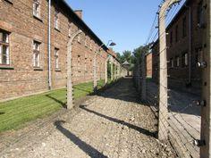 Auschwitz. En Pologne.Voyage en Europe de l'Est en 2008.