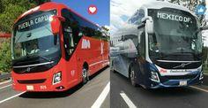 Volvo 9800 ómnibus de México y ado