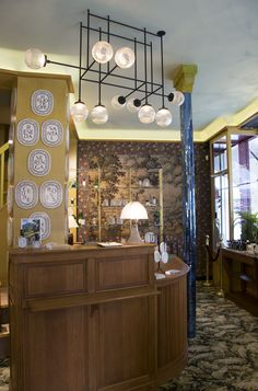 Diptyque - Paris, France /// boutique / ceiling light / decorative / custom-made / steel / glass /// Contact us - pslab.net