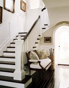 Gorgeous dark floors