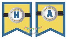 Banderole murale minion gratuite à télécharger Bid banner minion free printable