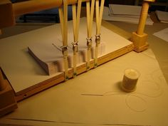 Bookbinding techniques. Elements of book binding & book structure